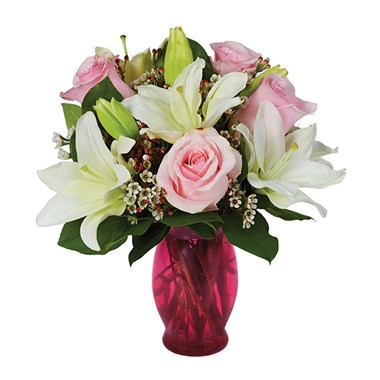 Pink & Pretty flower bouquet (BF225-11KM)